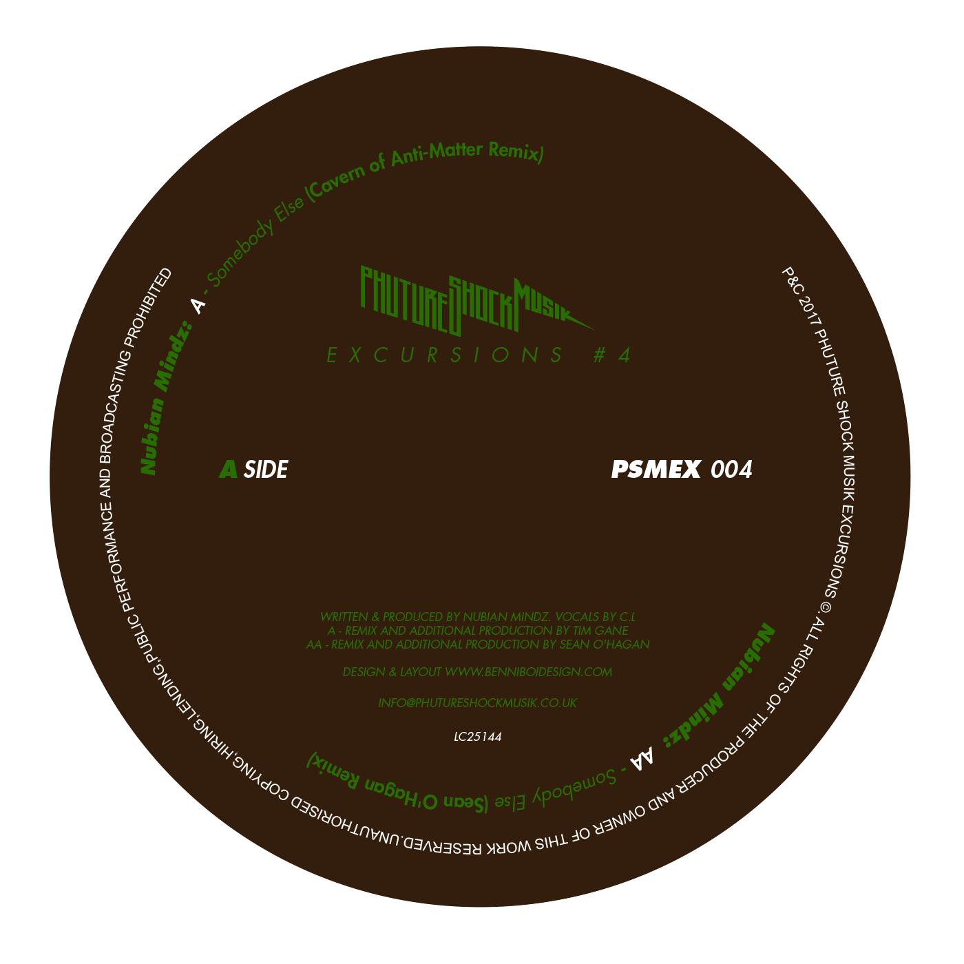 Nubian Mindz – Somebody Else (Sean O'Hagan Remix)(Phuture Shock Musik)
