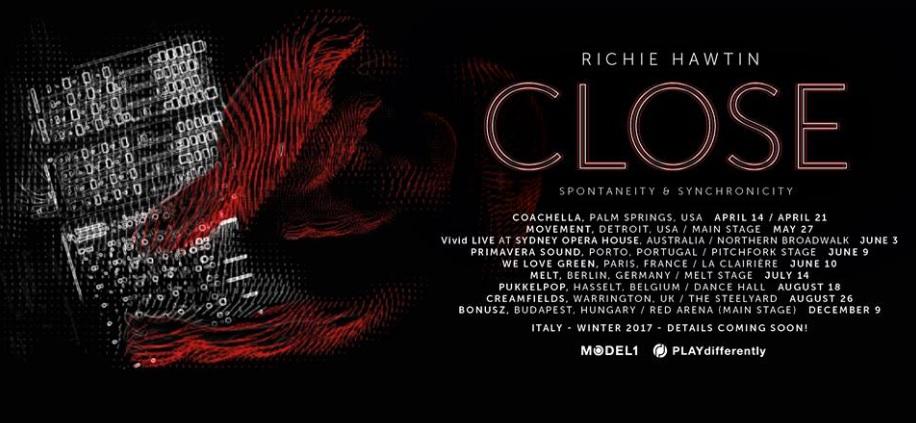 Richie Hawtin Closer Tour