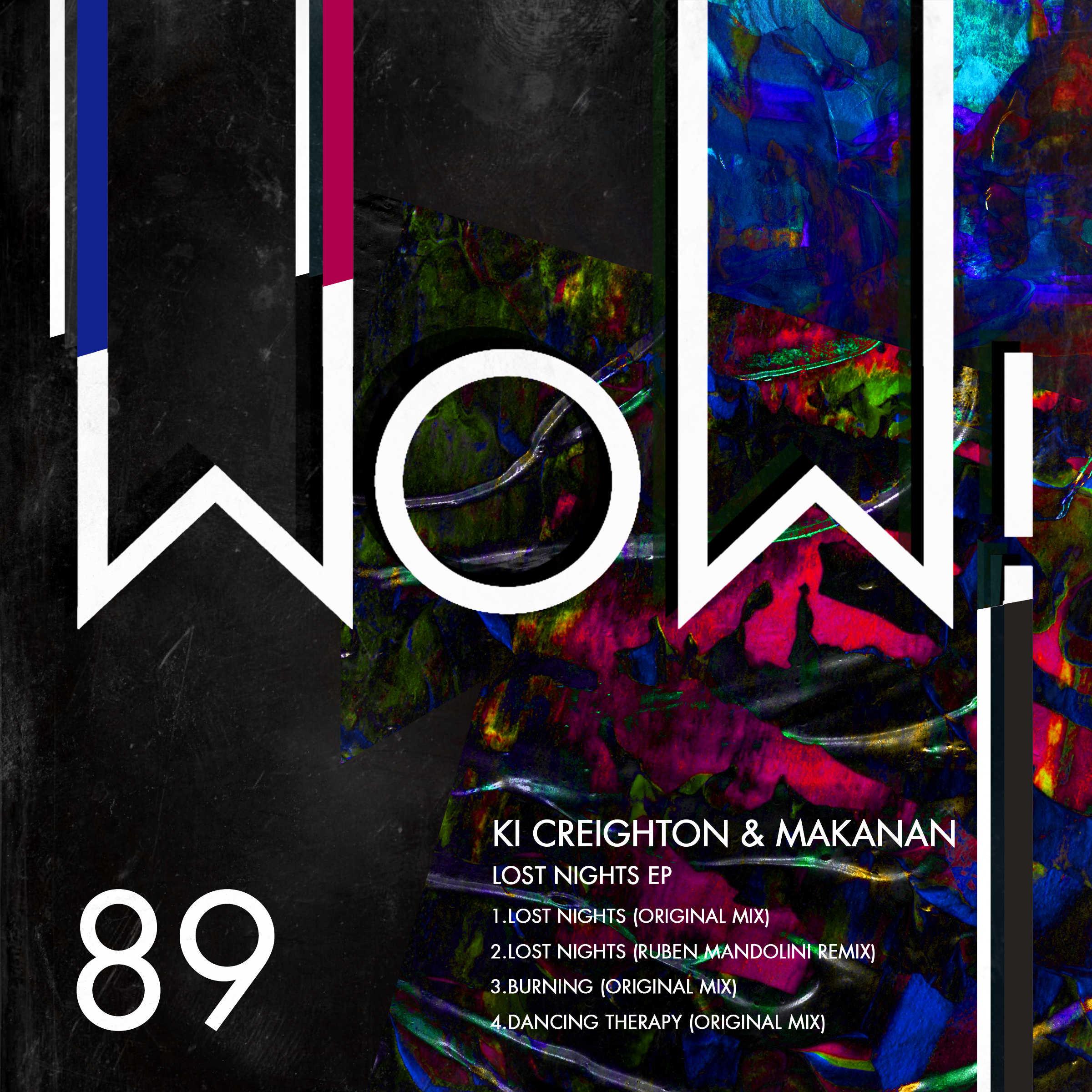 Ki Creighton & Makanan – Lost Nights (Wow! Recordings)